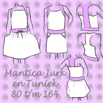 Mantica jurk en tuniek