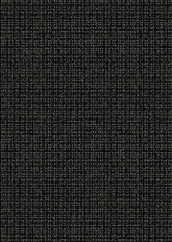 Color weave black, zwart