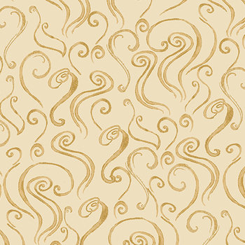 Latte steam tan, crême, print bruin