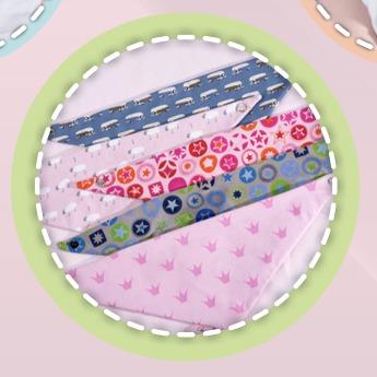 patroonblad bandana