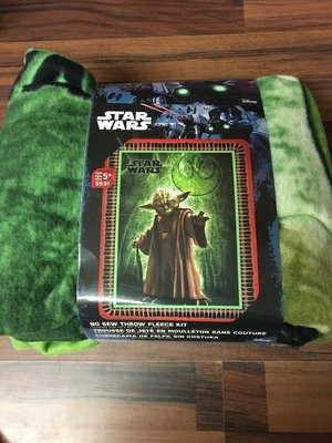 Fleece deken star wars yoda