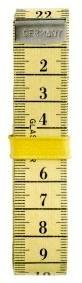 Centimeterband met clip 150 cm