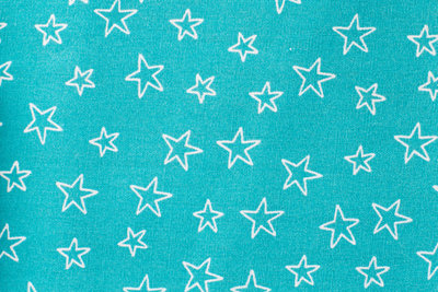 poplin katoen bedrukt kleine ster
