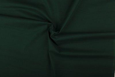 effen katoen donker groen