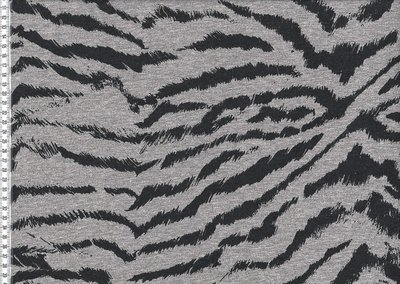 Tricot geruwd zebra