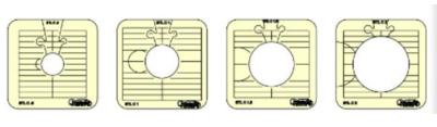 BTL-4-HS Between the lines set of 4