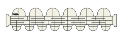 "CC1 Round Clamshells 1,5""x 0,75"" HS"