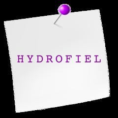 Hydrofiel stof