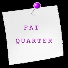 Fat Quarters 45 x 55 cm