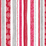 Hearty the Snowman, Swirl Stripe Red