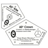 2 inch Kite and Crown Templates (2p)
