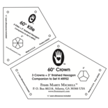 3 inch Kite and Crown Templates (2p)