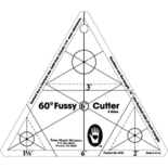 60-degree Fussy Cutter Template