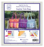 Quilt as you go Sophie tote bag