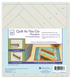 Quilt as you go placemat