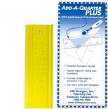 Add-A-Quarter liniaal 6 inch plus
