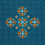 Big Floral Ornaments by Lycklig Design