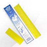Add-A-Quarter liniaal 6 & 12 inch
