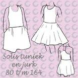 Solis tuniek en jurk