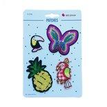 applicatie butterfly pinneapple