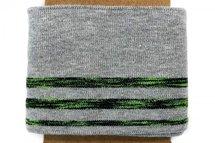 cuff donker grijs met neon streep