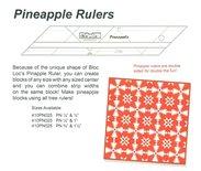 Pineapple rulers