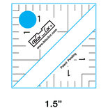 Half square triangle rulers