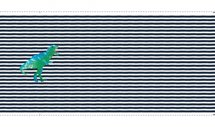 glitter paneel dino stripe