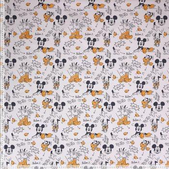Disney Mickey Mouse tekeningen katoen