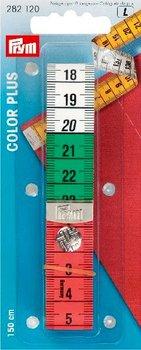 Centimeterband colorplus 150 cm met drukknoop