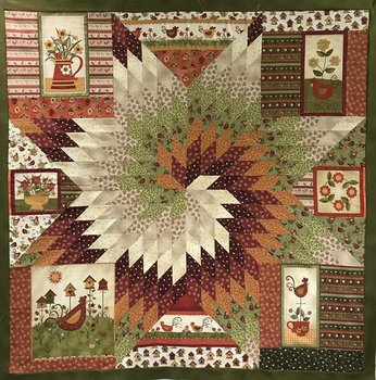 Star struck chicken quiltpakket
