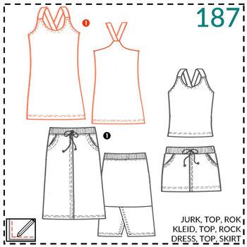 abacadabra patroon 0187
