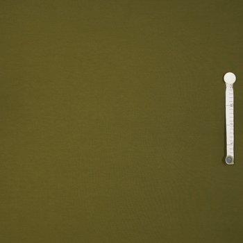 Tricot uni olijf groen