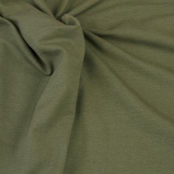 Tricot uni khaki