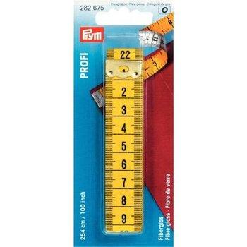 Centimeterband profi glasvezel cm/inch 254 cm