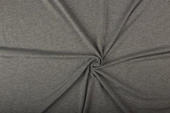 Tricot uni  gemeleerd grijs