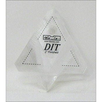 Diamond in a triangle sets