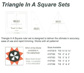 Triangle in a square sets