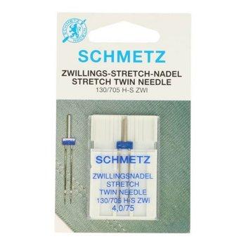 Schmetz naaimachine naalden stretch tweeling 4.0 mm