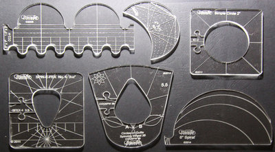 Westalee 6 piece template set